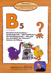 B5 - Bundestagswahl, Büroklammer, Bonbon