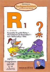 R1: Rasenmäher/ Rind/ Reißverschluss/ Ritter Armin
